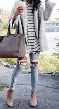 18 Super günstige Cardigan-Herbst-Outfit-Ideen zum Ausprobieren - Stil Spacez, #ausprobieren #cardigan #casualoutfitsweekend #gunstige #herbst #ideen #outfit #super