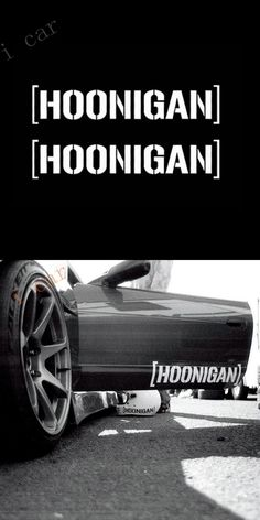 HOONIGAN Ken Block Hater Car Window Decals Stickers Cool JDM Euro Fiesta