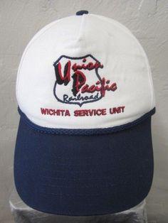 Union Pacific Railroad Ball Cap Wichita Service Unit USA Made Adult Snapback   UnionPacific  UP 216949cda01d