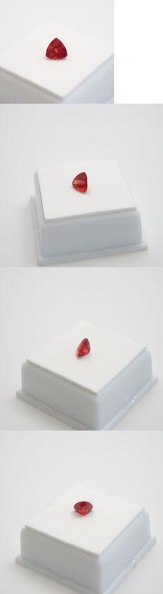 Labradorite 164393: Red Labradorite - 0.80Ct+ Checkerboard Top Cut -Trillion 7X7mm - Loose Gemstone -> BUY IT NOW ONLY: $71.99 on eBay!