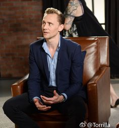 Tom Hiddleston at the Variety Studio: Actors on Actors 2.4.2016 From http://tw.weibo.com/torilla/4044731769942267