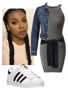 Untitled #98 by gwen94xo on Polyvore featuring polyvore, fashion, style, maurices, Boohoo, adidas and clothing