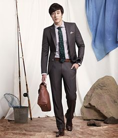 So Ji Sub Goes Indoor Camping For SIEG FAHRENHEIT's Spring/Summer 2013 Ad Campaign   Couch Kimchi