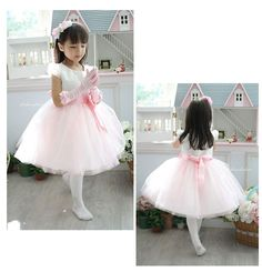 18.40$  Buy here - http://ali5s1.shopchina.info/go.php?t=747200197 - Retail-New Girls Princess Dresses Pink Chiffon TUTU Girl Party Dress for baby and children wedding Free shipping 18.40$ #magazineonlinebeautiful