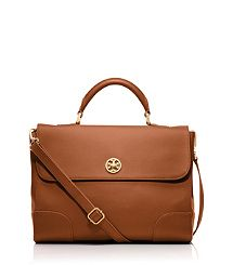Workin' Girl Briefcase [Tory Burch - Robinson Top Handle Satchel]