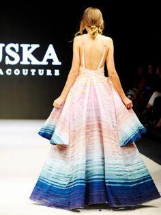 Nuska ist ein neues, spannendes Label aus Deutschland. Wir zeigen dir die schönsten Looks der ersten Runway-Show von der Vancouver Fashion Week.