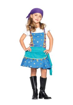 gypsy princess cute kids holiday party costume girl halloween kidsscary