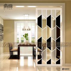 Partition Ideas, Glass Partition Wall, Living Room Partition Design, Room Partition Designs, Foyer Design, Wall Design, House Design, Simple Living Room, Living Room Modern