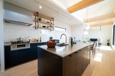 家族みんなで料理をすることが週末のイベントになる。セパレート(Ⅱ型)キッチンならそれが叶います。キッチン:永大産業ラフィーナネオ Kitchen, Home Decor, Cooking, Decoration Home, Room Decor, Kitchens, Cuisine, Home Interior Design, Cucina