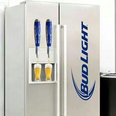 Bud Light Fridge? We need this now! #BudLight #Beerlovesyou