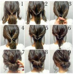 quick-hairstyle-tutorials-for-office-women-33... - Iser Haircuts