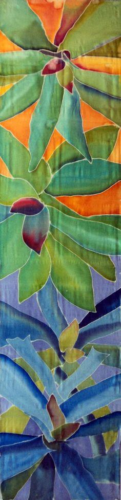 bromeliads watercolor