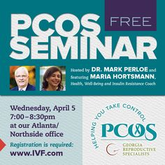 Join us for a free PCOS seminar on April 5, 2017
