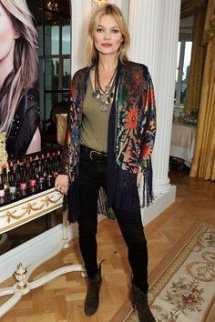 Rimmel London: 180 Years Of Cool press conference - October 10 2013  Kate Moss.