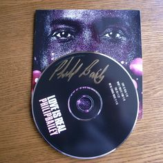 Philip Bailey Autographed CD