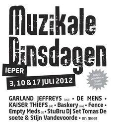 Empty Meds , PLACEBO tribute live in Belgium! :D Muzikale Dinsdagen 2012, 17th July, Ieper