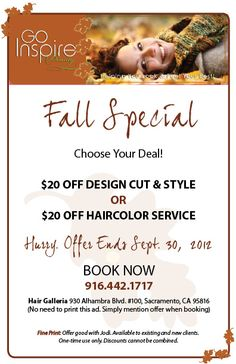 Hair salon specials on pinterest books online salons for Beauty salon xmas offers