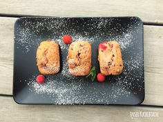 inser Kuchlbiachl: Fruchtig, fluffige Himbeer Schokolade Mini-Kuchen ...