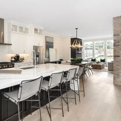 This island is giving us We incorporated smart lighting and space solutions throughout our Illuminator kitchen. Pulte Homes, Future House, My House, Great Rooms, Beautiful Places, Island, Kitchen Designs, Space, Lighting