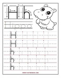 Worksheet Pre K Alphabet Tracing Worksheets preschool alphabet worksheets and coloring on pinterest free printable letter h tracing for writing practice 1st graders