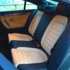 Las plazas traseras del Volkswagen CC son cómodas para dos adultos, siempre que no sean muy altos...