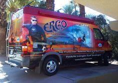 PaddleAir's Team Ergo Demo Van