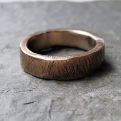 Bronze wedding ring, bark texture wedding band, made to order-bronze wedding ring, wedding band, bark texture, rustic wedding
