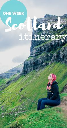 Saved for later. Need itinerary for one week trip in #Scotland? Here's the suggested itinerary on…
