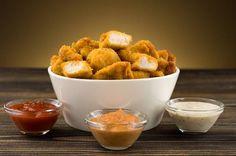 Bezlepkové kuřecí nugetky při hubnutí Easy Dinner Recipes, Baby Food Recipes, Healthy Recipes, Healthy Food, Mcdonalds, No Cook Meals, Kids Meals, Homemade Chicken Nuggets, Tofu