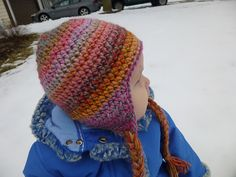 Ravelry: Seamless Earflap Hat pattern by Lindsey Carr