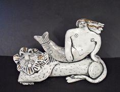 Mermaid on Lion 12cm R1200