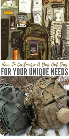How To Customize A Bug Out Bag For Your Unique Needs - A bug out bag's one-size-fits-all attempt to cover everything can result in a lot of bad gear choices if it's not audited and kept in check every now and then. Your pack will be full of heavy and often times useless items. #prepping  #bugout