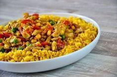 Ryż curry z kurczakiem i warzywami Clean Eating, Healthy Eating, Healthy Food, Rice Dishes, Fried Rice, Healthy Dinner Recipes, Italian Recipes, Food To Make, Food Porn