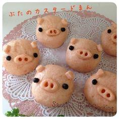 豚まん の画像|☆さおりん☆のキャラ弁日記♪