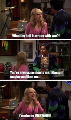 This is me! When guys think I like them because I'm nice.