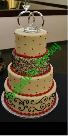 My Wedding cake that I made