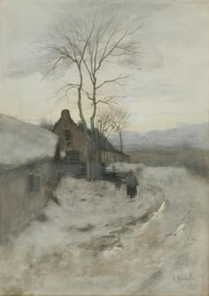 Anton Mauve - Winter in Laren