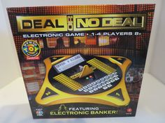 Deal Or No Deal Electronic Board Game 2006 Tabletop Electronic Banker Sealed #EndemolIrwinToyCo