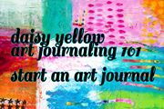 ICAD (Index Card a Day)  FAQ - creative prompts - create explore paint