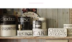 Tinware, Kitchen Tins & Trays from Emma Bridgewater