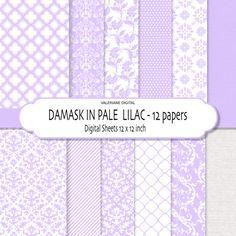 Damask digital paper damask scrapbook paper by ValerianeDigital  https://www.etsy.com/listing/89644895/damask-digital-paper-damask-scrapbook?ref=shop_home_active_18