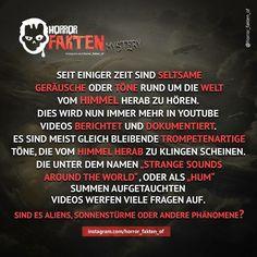 Diese Töne wurden auch in Deutschland sowie auch in Österreich und der Schweiz aufgenommen. Wirklich Creepy wenn man sich die Videos mal angesehen hat. Youtube Video Link in unserer Bio