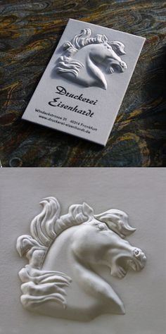 Amazing High Relief 3D Embossed Business Card                                                                                                                                                                                 More