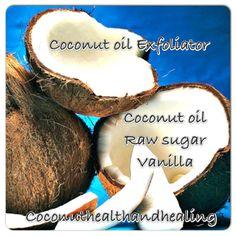 coconut oil exfoliator
