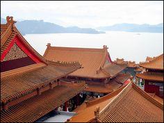 Wen Wu Temple on Sun Moon Lake in Taiwan