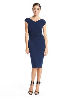 Cap Sleeve V-Neck Infinity Dress - Donna Karan e969c5cba82