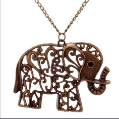 Simple elephant necklace Brand new! PLEASE ALLOW 2-3 WEEKS FOR DELIVERY Jewelry Necklaces