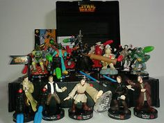 Fun game with lots of Star Wars figures and missiles ready to do battle. Sold £25 Used, with case [REF ATSE0602]