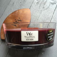 Black Chery Hearthwick Candle available from twofivefive.co.uk