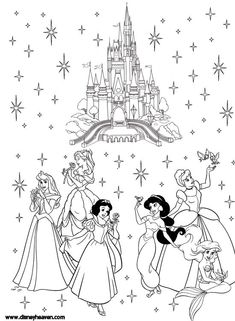Disney Villains Coloring Pages | Disney Heaven - Sharing the magic of Disney...